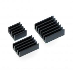 Zestaw radiatorów czarnych - 3szt.