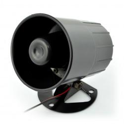 Syrena alarmowa S3 - 6-14V 112dB 6 tonów