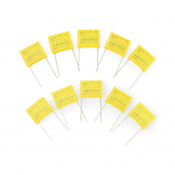 Kondensator 220nF / 275VAC 15mm