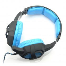 Słuchawki stereo z mikrofonem - Art Flash z podświetleniem