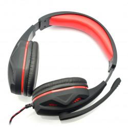Słuchawki stereo z mikrofonem - Art Hero USB