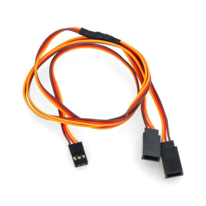 Splitter Wire for Servos Y - 60 cm (JR)_