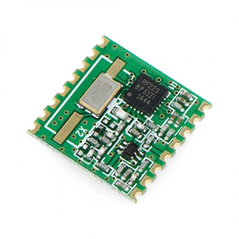 Moduł radiowy - RFM22B-868S2 868MHz - transceiver SMD