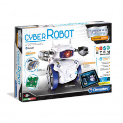 Robot set for self assembly - Cyber Robot - Clementoni 60596