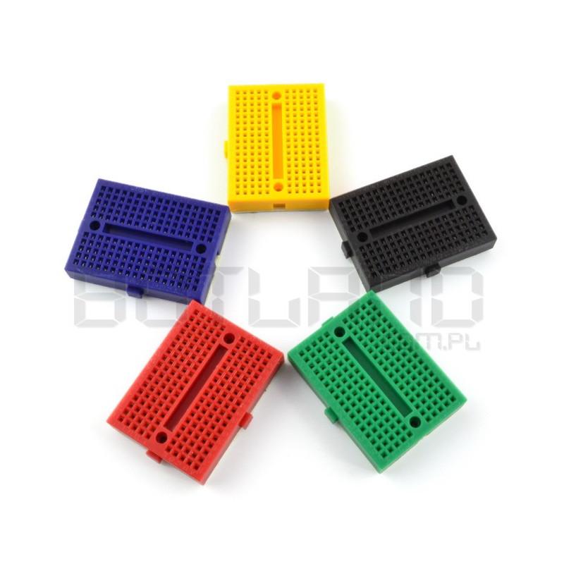 Płytka stykowa - 170 otworów różne kolory