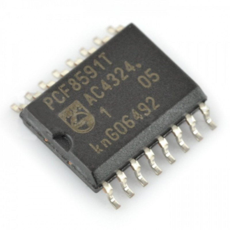 Converter ADC and DAC 8-bit PCF8591T SMD_