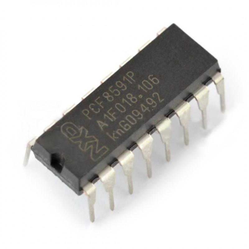 Przetwornik A/C i C/A PCF8591P 8-bitowy DIP