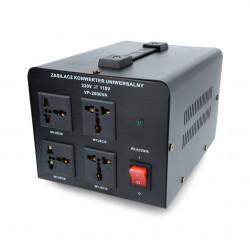 Voltage converter 230V/110V - 2000VA