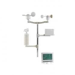 Bezprzewodowa stacja pogodowa z zegarem DCF i czujnikiem do użytku zewnętrznego