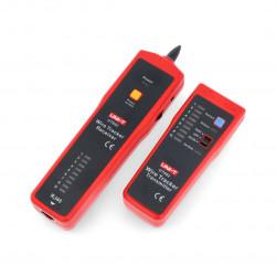 Detektor par przewodów UNIT UT682 z testerem RJ45