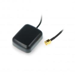 Square 2.4V - 5V GPS antena 3m SMA M