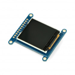 """Wyświetlacz TFT LCD 1,44 """" 128 x 128z czytnikiem microSD"""