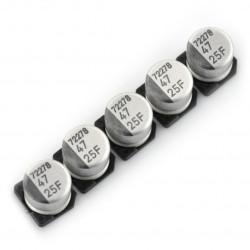 Kondensator elektrolityczny 47uF/25V SMD