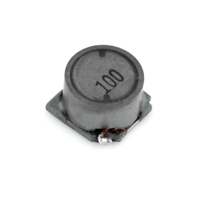 Coil 10uH/1,63A - DER0705-10 - SMD