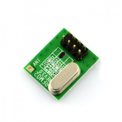 A radio module RFM02-433-D, 433 MHz transmitter TNT
