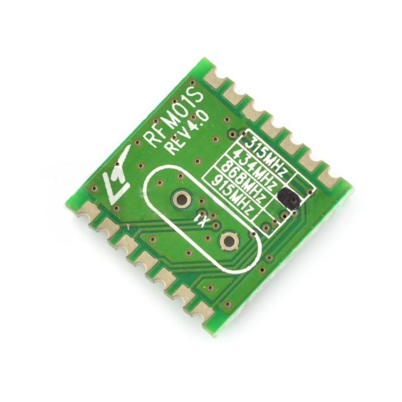 Radio module RFM01-433S2 433MHz - SMD receiver*