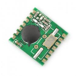 Moduł radiowy RFM02-433S2 433MHz - nadajnik SMD