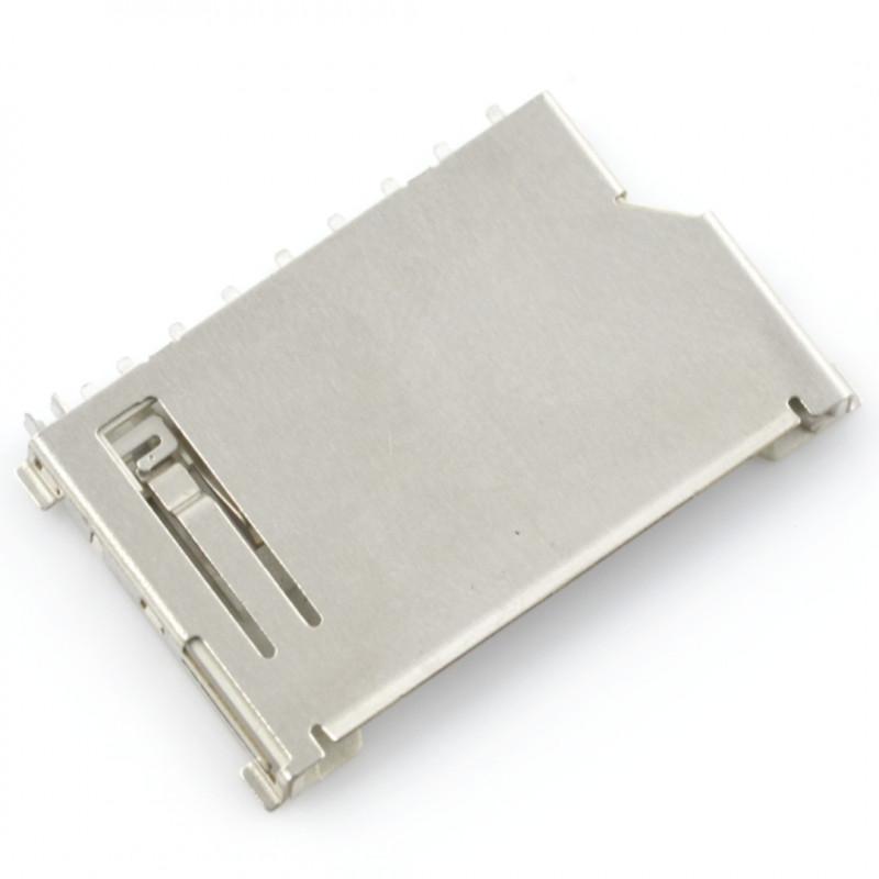 Slot for SD159 short SD memory card*