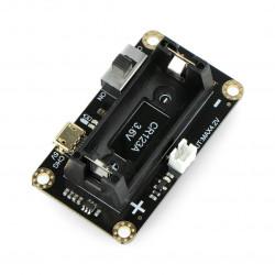 DFRobot - podstawka na baterię CR123A dla micro: Maqueen