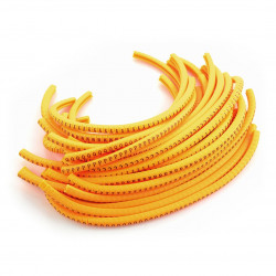 Literal markers for cable 4mm - 1300pcs