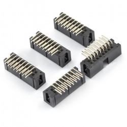 Wtyk IDC 16 pin kątowy - 5 szt.