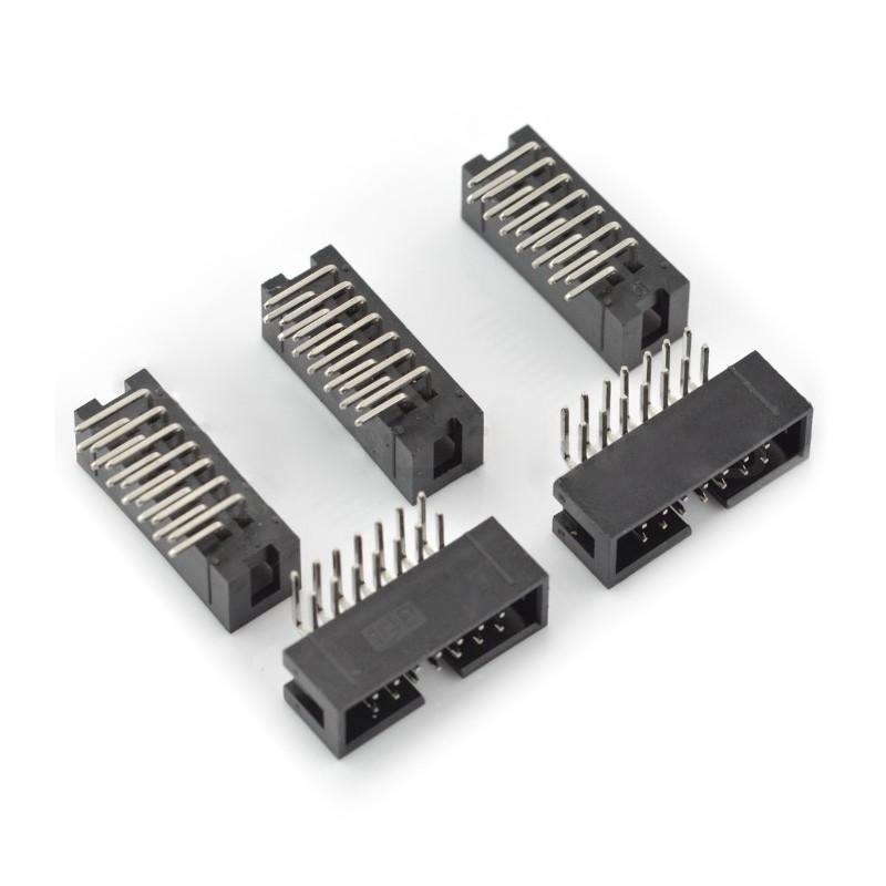 Wtyk IDC 14 pin kątowy - 5szt.