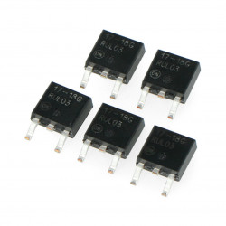 Stabilizator LDO 1,8V NCP1117DT18G - SMD TO-252 - 5 szt.