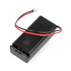 Battery holder for 2x AAA with JST 2mm - micro:bit