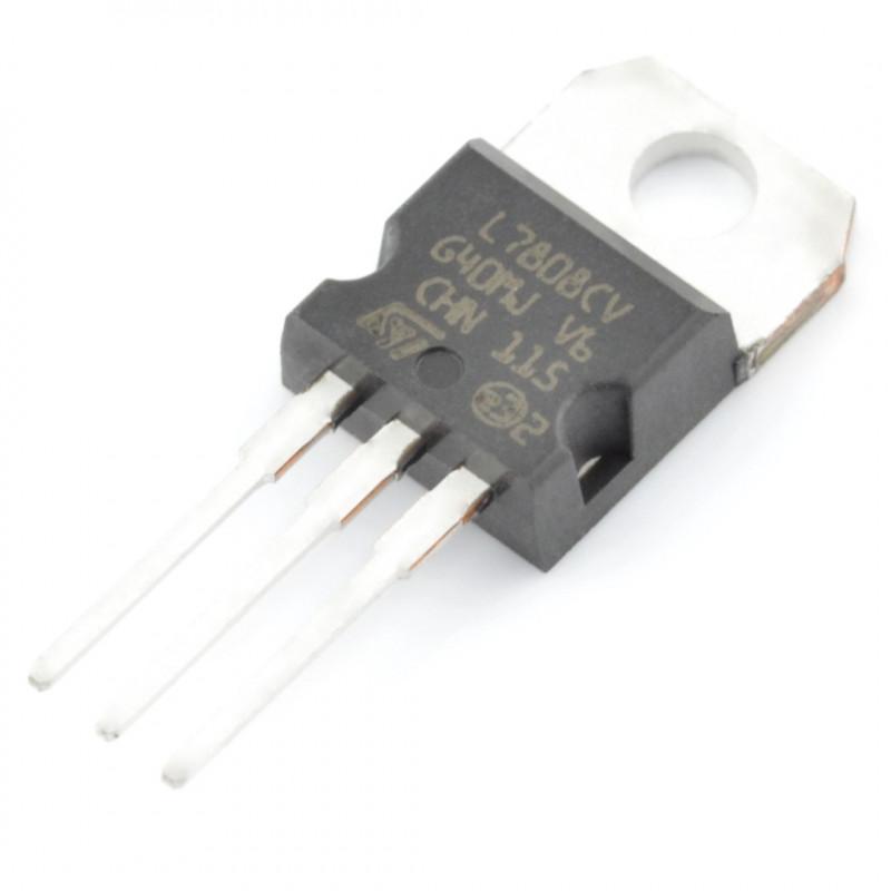 Linear voltage regulator 8V LM7808 - THT TO220