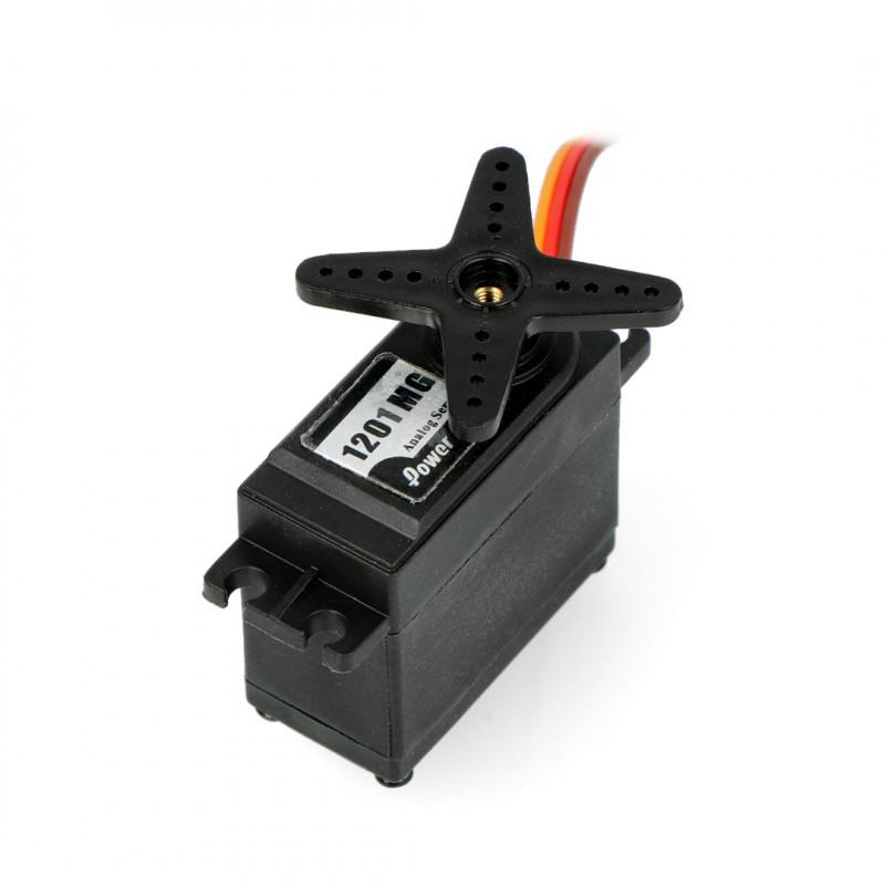 Serwo PowerHD HD-1201MG - standard