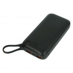 Mobilna bateria PowerBank Baseus 20000 mAh Type-C QC3.0 - czarny