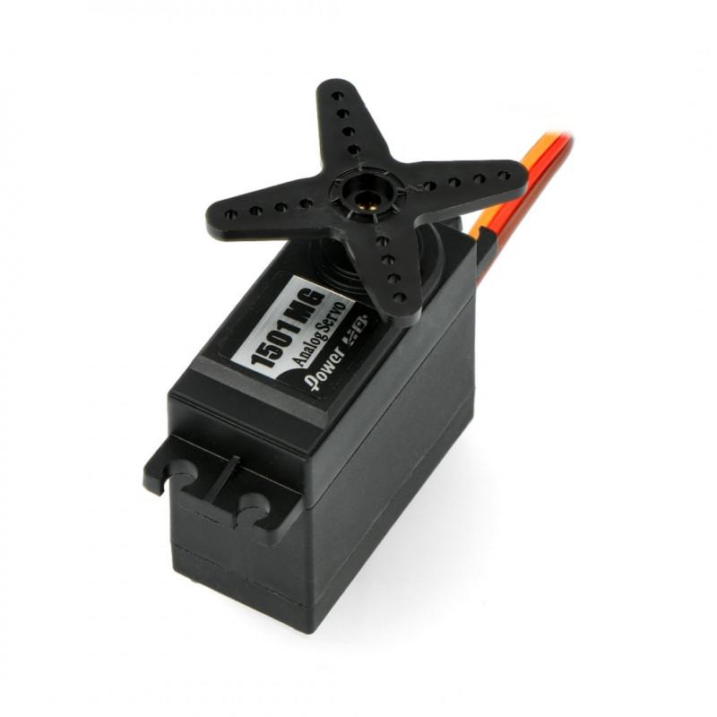 Serwo PowerHD HD-1501MG - standard
