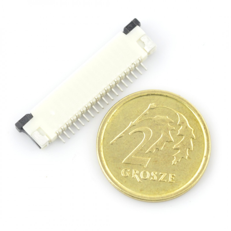 Connector: FFC / FPC ZIF 18 pin, pitch 1mm*