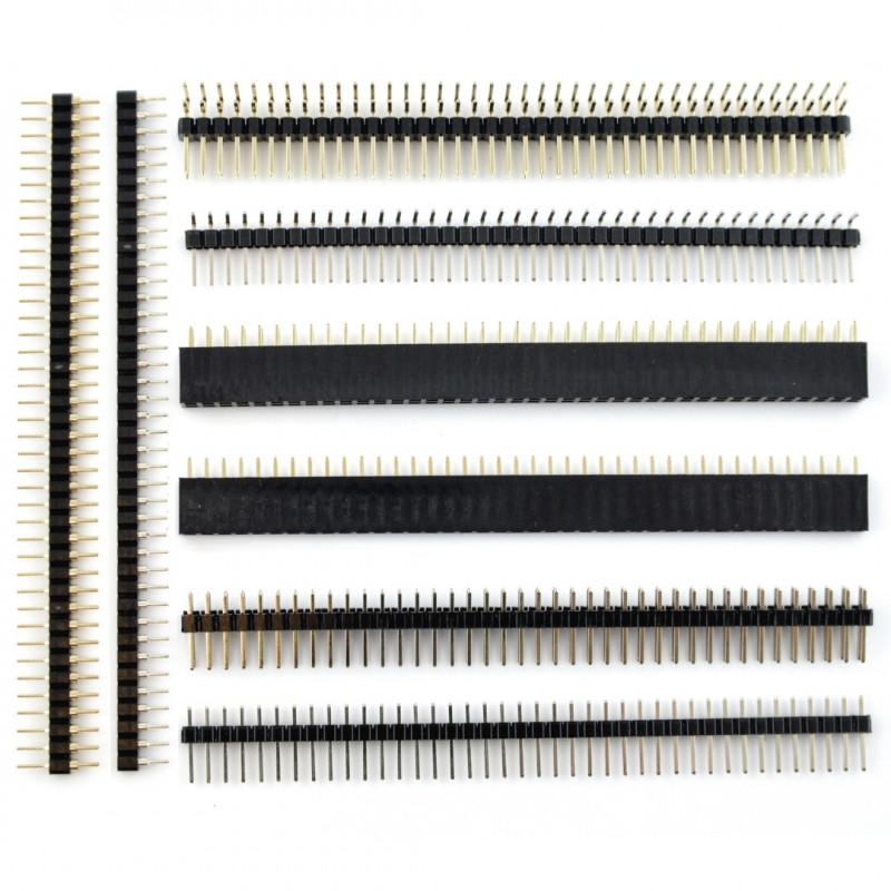 Set of goldpin raster 2,54mm - maxi*