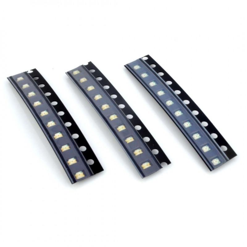 Zestaw diod LED SMD 0805 - 30szt.