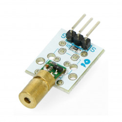 Laser diode 1mW red 650nm 5V - Velleman VMA434