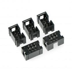 Wtyk IDC 6 pin prosty - 5 szt.