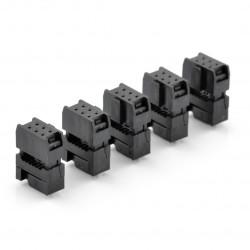 Gniazdo IDC 6 pin na taśmę - 5 szt.