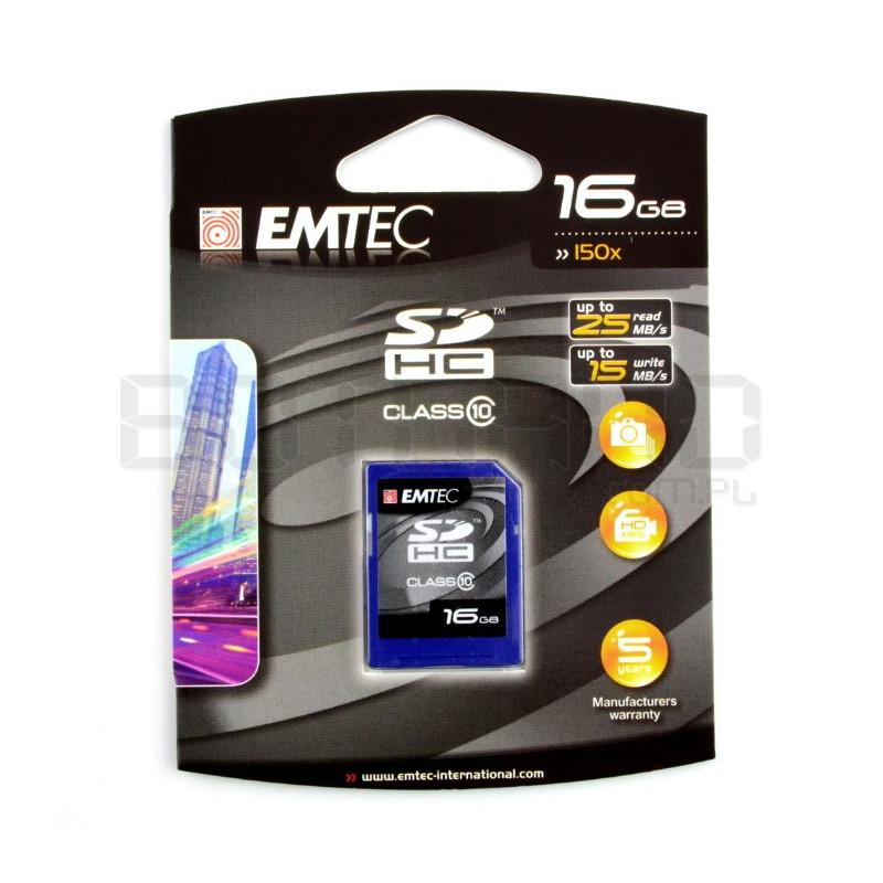Emtec SD / SDHC 16GB class 10 memory card