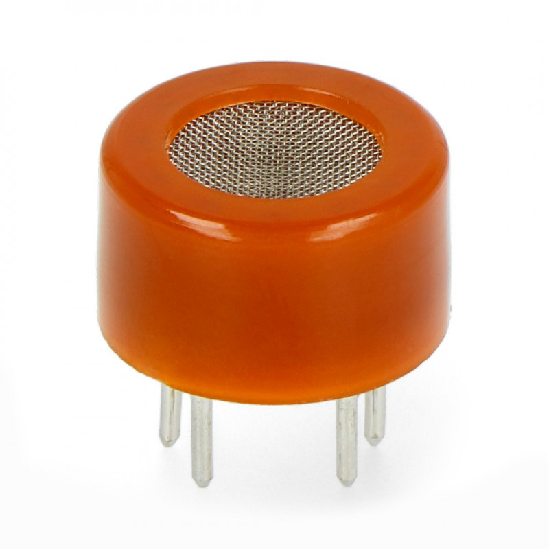 Czujnik tlenku węgla i łatwopalnych gazów MQ-9 - półprzewodnikowy - Pololu 1483