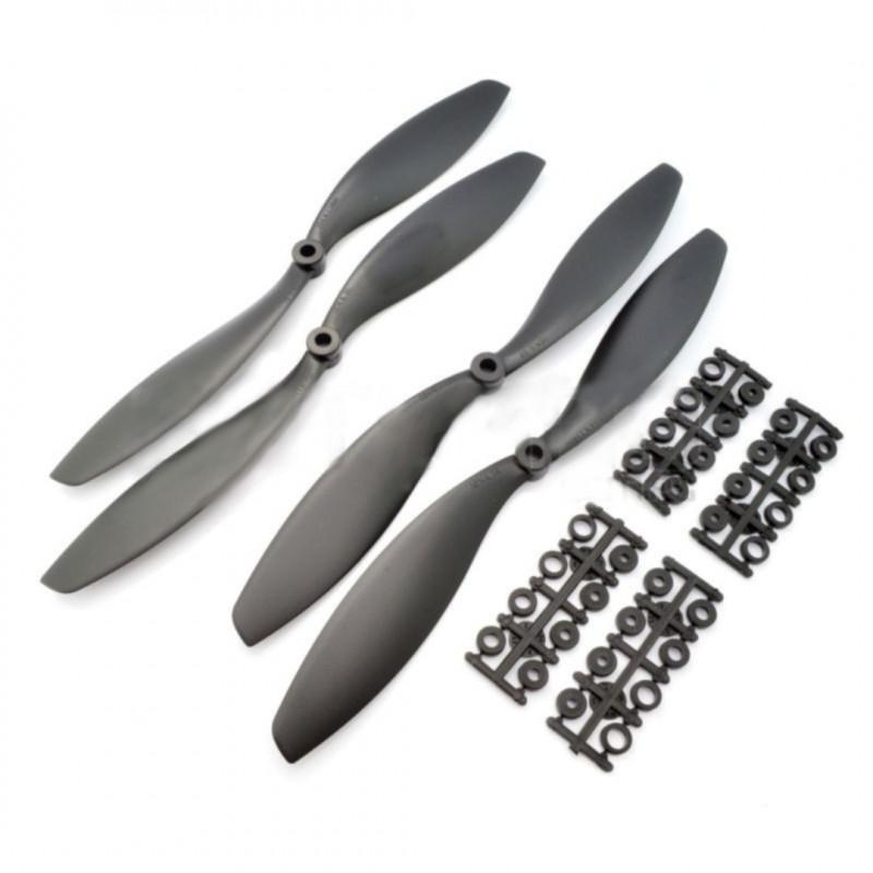 SF Props 10x4,5'' Propellers - black - 4pcs.*