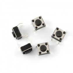 Tact Switch 6x6mm / 4.3 mm THT - 5pcs