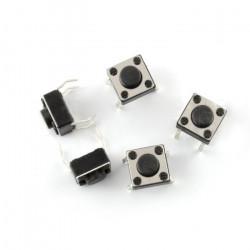 Tact Switch 6x6mm / 4.3 mm THT - 5pcs