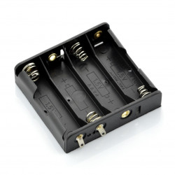 Koszyk na 4 baterie typu AA