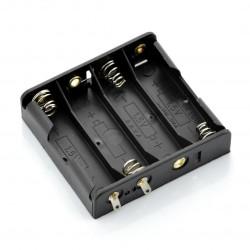 Koszyk na 4 baterie typu AA (R6) bez przewodów