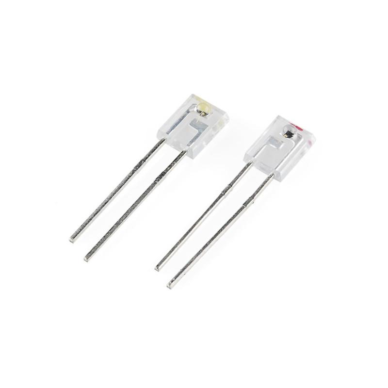 Receiver and IR transmitter LiteOn 940nm (pair) - SparkFun SEN-00241*