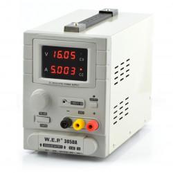 Zasilacz laboratoryjny WEP 305DA 30V 5A