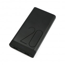 Mobile battery PowerBank Huawei AP20 20000 mAh - black