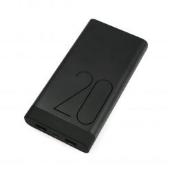 Mobilna bateria PowerBank Huawei AP20 20000 mAh - czarna