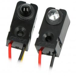 Czujnik przerwania wiązki IR - LED 5 mm
